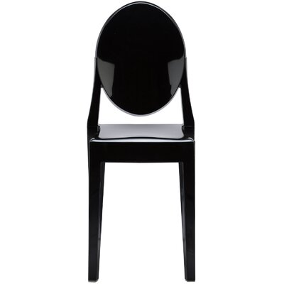 Bentlee Dining Chair Color: Black