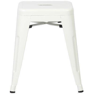 Alyssa 18 Bar Stool Color: White