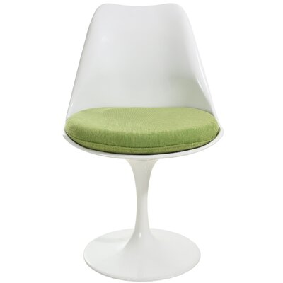 Grove City Dining Chair Upholstery Color: Green