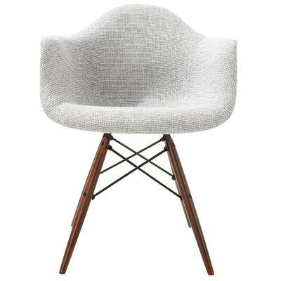 Quintus Padded Dining Chair Upholstery: Light Gray