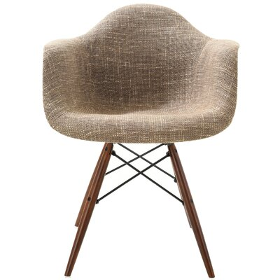 Quintus Padded Dining Chair Upholstery: Taupe