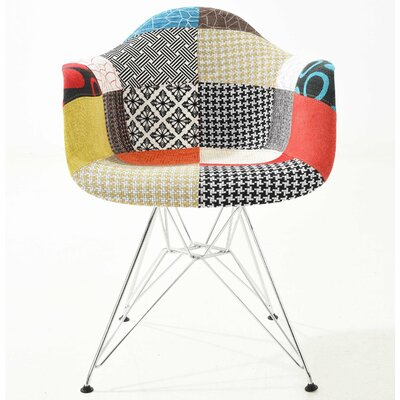 Rafael Arm Chair Finish: Patchwork