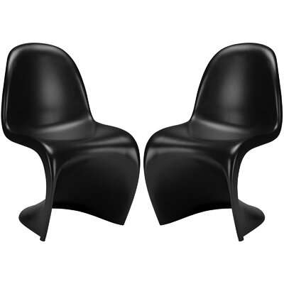 S Side Chair Finish: Black