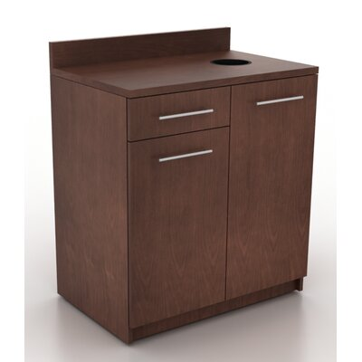 Modern Breakroom 39.63 H x 35.88 W Desk File Pedestal Finish: Crown Cherry