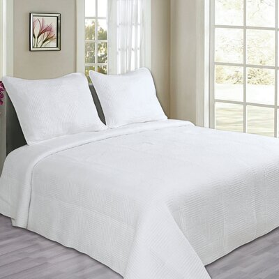 Maze Cotton Quilt Set Size: Full/Queen