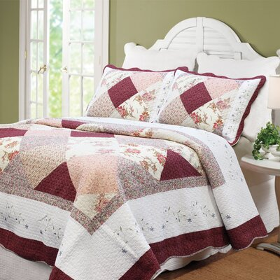 Georgia Patchwork Quilt Set Size: Twin
