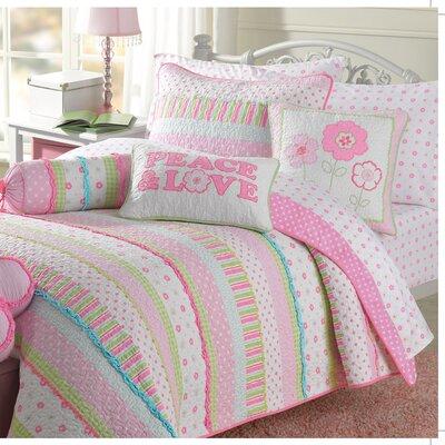 Greta Pastel Quilt Set Size: Full/Queen