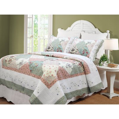 Celia Patchwork King Sham