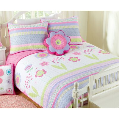 Blossom 2 Piece Twin Quilt Set