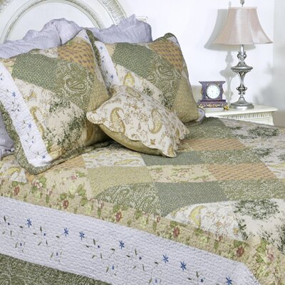 Laura Patchwork Quilt Set Size: King