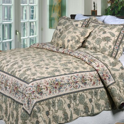 Florence 3 Piece Quilt Set Size: Full/Queen