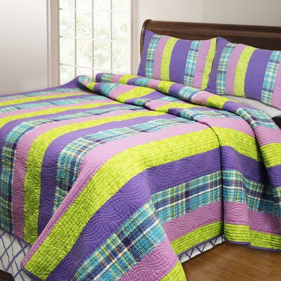Panama Island Quilt Set Size: Full/Queen