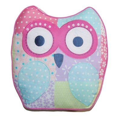 Cute Owl Decorative Cotton Throw Pillow