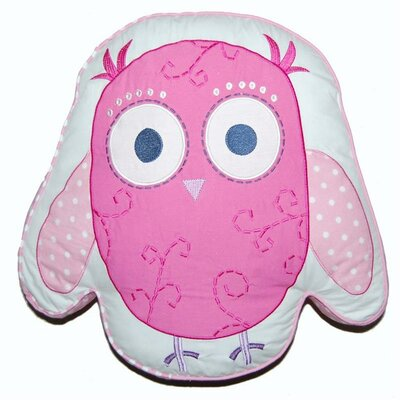 Owl Decorative Cotton Throw Pillow