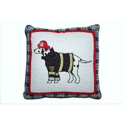 Dalmatian Fire Dog Decorative Cotton Throw Pillow