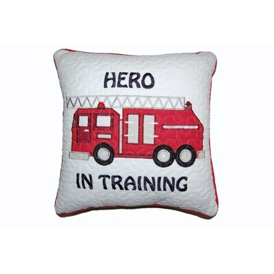 Hero in Training Decorative Cotton Throw Pillow