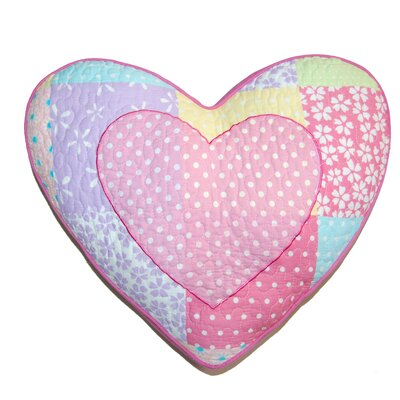 Heart Decorative Cotton Pillow