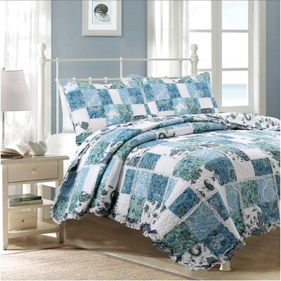 Calypso Quilt Set Size: Twin