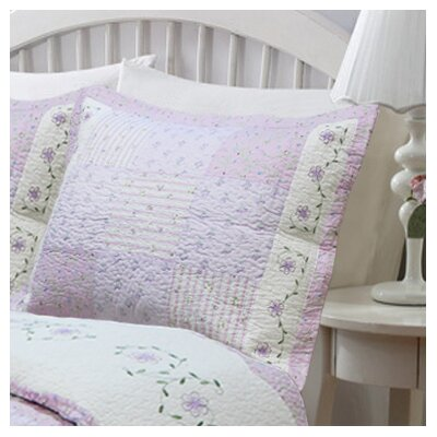 Love of Lilac King Sham