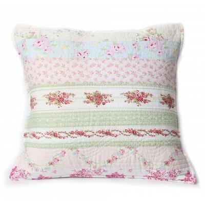 Darrius Wild Rose Enchantment 100% Cotton Throw Pillow