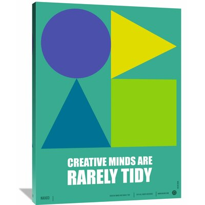 'Creative Minds' Poster Painting Print on Wrapped Canvas Size: 48