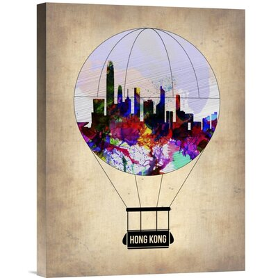 'Hong Kong Air Balloon' Graphic Art Print on Canvas GCS-454683-1216-142