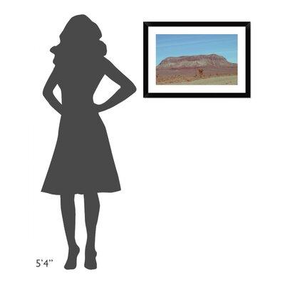"'Desert Mountain' Framed Photographic Print Size: 19.86"" H x 28"" W x 1.5"" D DPF-392210-22-313"