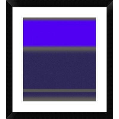 "'Abstract Purple' Framed Print Size: 22"" H x 20"" W x 1.5"" D DPF-391864-16-313"
