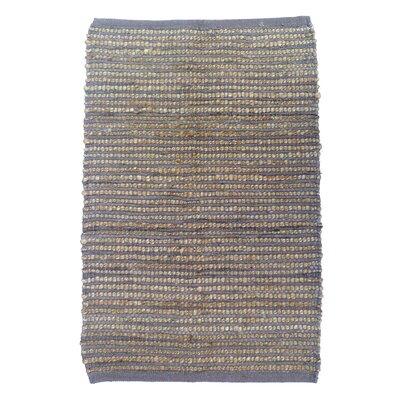 Sand Stripe Mink Area Rug Rug Size: 4 x 6