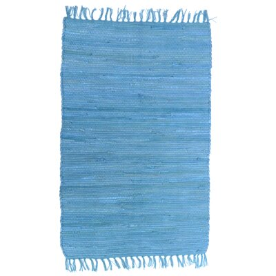 Country Blue Area Rug Rug Size: 2 x 3