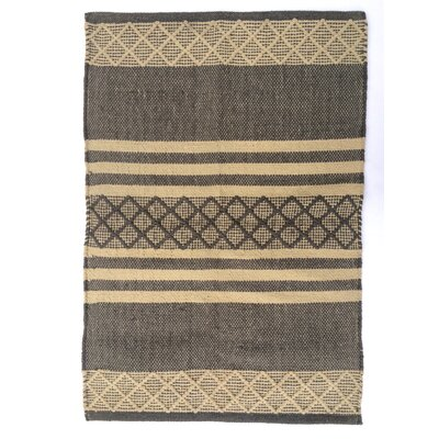 Atlas Taupe Area Rug Rug Size: 4 x 6