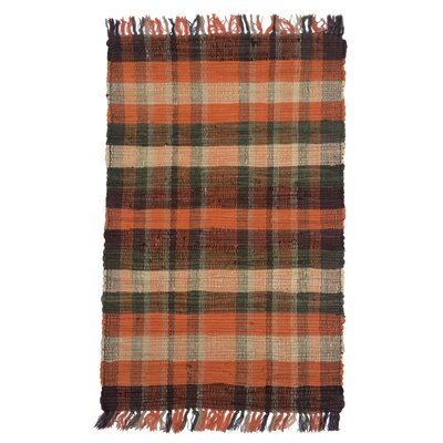 Country Tangerine Area Rug Rug Size: 26 x 42