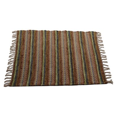 Collonade Ginger Area Rug Rug Size: 2 x 3