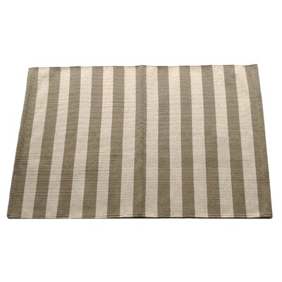 Narrow Stripe Safari Area Rug Rug Size: 25 x 42