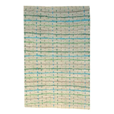 Joycelyn Dots Handmade Coast Area Rug Size: 2 x 3