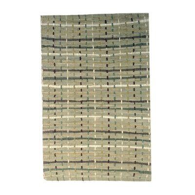 Malissa Dots Handmade Gray Area Rug Size: 2 6 x 4 2