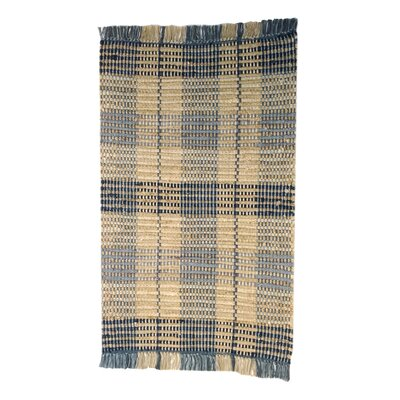 Levine Handmade Blue Area Rug Size: 2 x 3