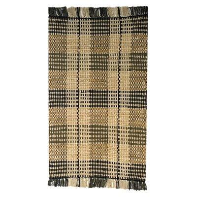 Levine Handmade Black Area Rug Size: 2 x 3