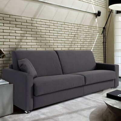 Rachael Queen Sleeper Sofa Upholstery: Dark Gray