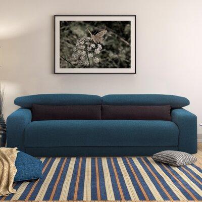 Michele Queen Sleeper Sofa Upholstery: Ocean Blue