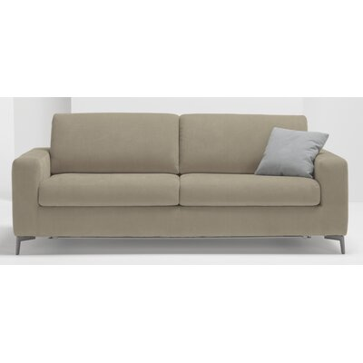 Hanna Queen Sleeper Sofa Upholstery: Light Grey