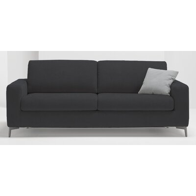 Hanna Queen Sleeper Sofa Upholstery: Dark Gray
