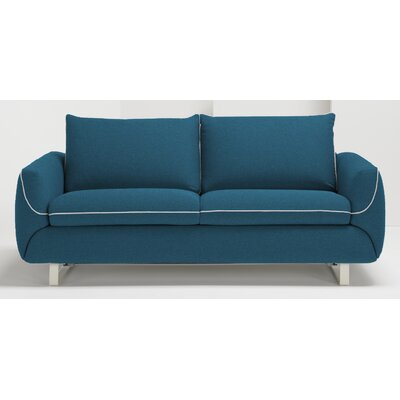 Pezzan USA Maestro Queen Sleeper Sofa - Upholstery: Ocean Blue