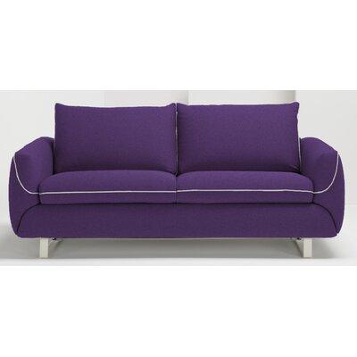 Joann Queen Sleeper Sofa Upholstery: Eggplant