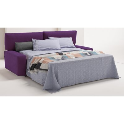 Michele Queen Sleeper Sofa Upholstery: Eggplant