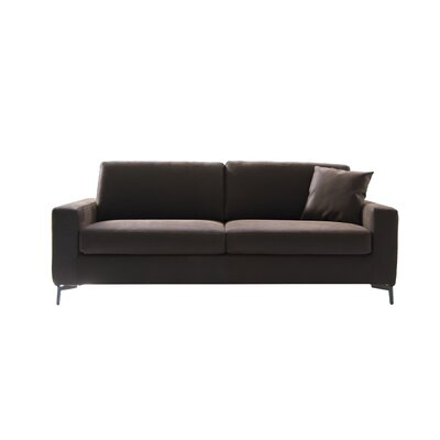 Hanna Sleeper Sofa Upholstery: Brown
