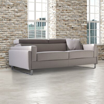 Kathleen Queen Sleeper Sofa Upholstery: Light Grey