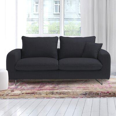 Gricelda Queen Sleeper Sofa Upholstery: Dark Gray