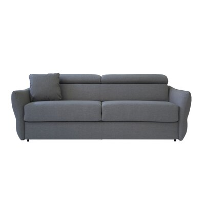 Beth Sleeper Sofa Upholstery: Polar Gray