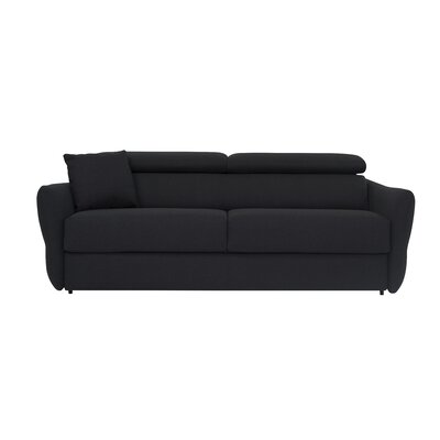 Beth Sleeper Sofa Upholstery: Dark Gray